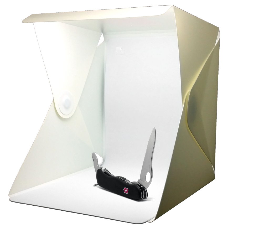 Lightbox with product